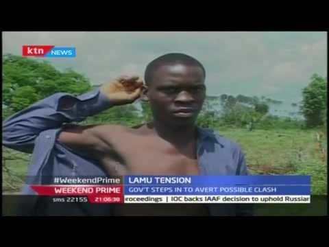 Tension is high between pastoralists and farmers in Mpeketoni, Lamu