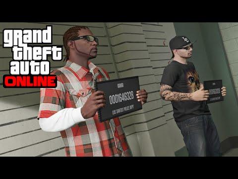 Nuevas Imagenes GTA V ONLINE -  Misiones Como Policia ?