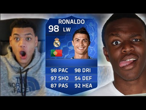 TEAM OF THE YEAR RONALDO PINKSLIPS vs KSI!! Fifa 14 Ultimate Team TOTY