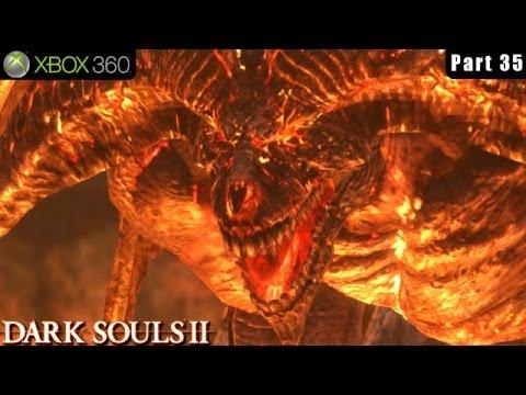 Dark Souls 2 - Xbox 360 Walkthrough Gameplay Part 35 (Boss Old Iron King)