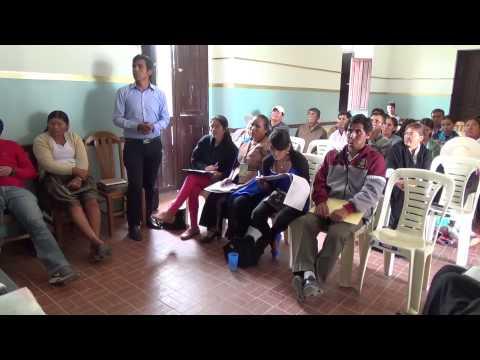Comisiones de trabajo de la Asamblea Autonómica  socializan propuestas en Santivañez