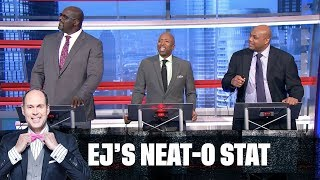 Jeopardy! (Inside Edition)   EJ's Neato Stat of the Night