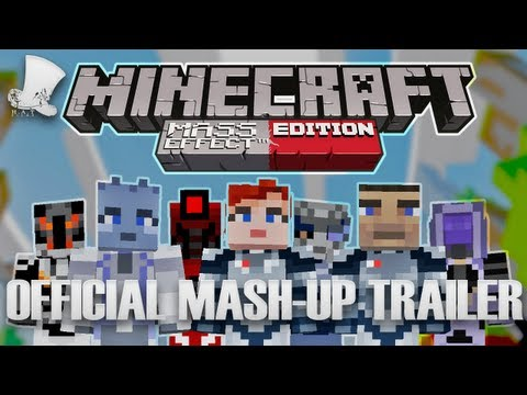 Minecraft Xbox 360 Mash Up - Mass Effect Trailer
