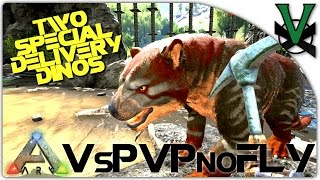 Two Special Delivery Dinos!   VsPVP Sub Server   ARK: Survival Evolved   S1:EP25