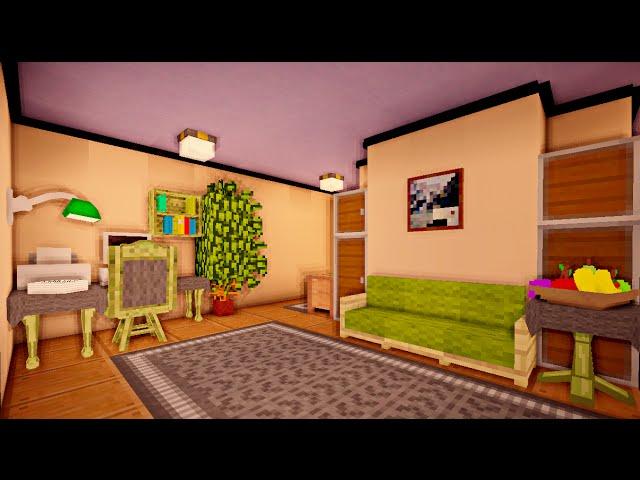 Дизайн комнаты в майнкрафт