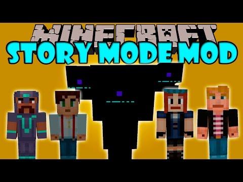 MINECRAFT STORY MODE MOD - Wither gigante. Jesse. Petra y mas! - Minecraft mod 1.8 Review ESPAÑOL