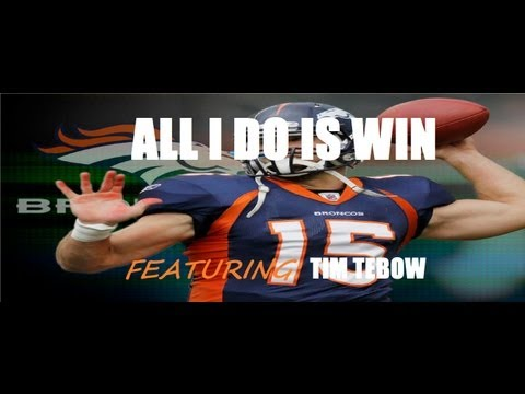 Tim Tebow- All I Do Is Win (HD)