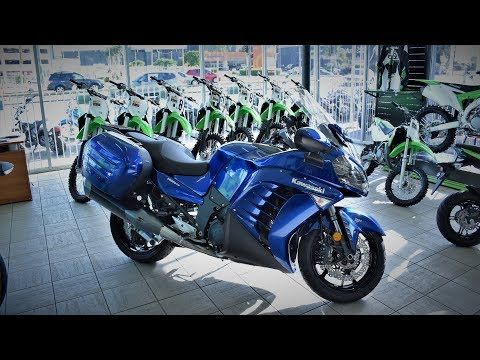 NEW kawasaki GTR 1400 Quick Review