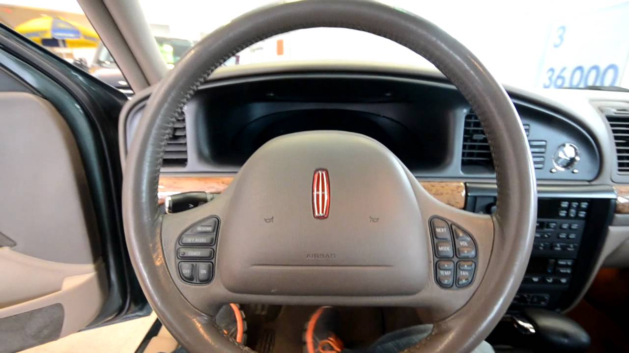1999 Lincoln Continental V8 Leather  Stk  29506sa   For Sale Trend Motors Used Center Rockaway