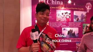 China Hola China International Travel Service Co.,Ltd   Travel Mirror News TTF Hyderabad 2018