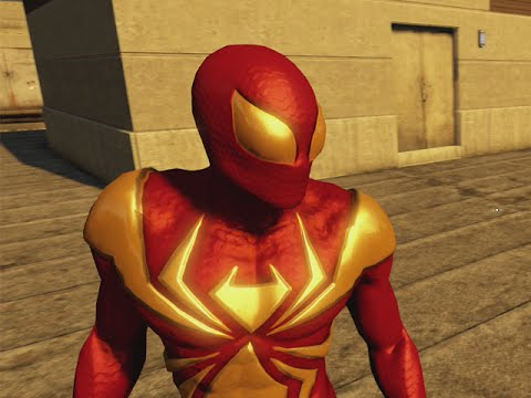 THE AMAZING SPIDER-MAN 2 VIDEOGAME - IRON SPIDER COSTUME SHOWCASE (Free Roam)