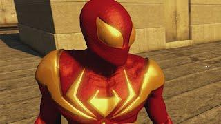 THE AMAZING SPIDER-MAN 2 VIDEOGAME - IRON SPIDER COSTUME SHOWCASE (Free Roam)