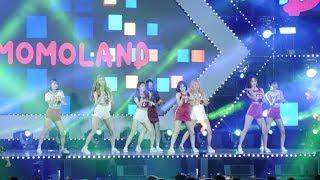 [4K]180721 모모랜드(MOMOLAND) 전체직캠(Fancam)/안동 케이팝(K-POP)콘서트 by RoadRock