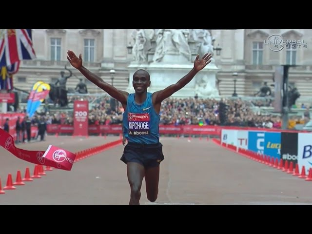 Eliud Kipchoge wins 2015 London Marathon - Universal Sports