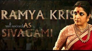 Ramya Krishna as SIVAGAMI AV   Baahubali   MM Keeravaani
