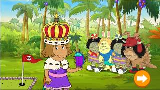 Arthur D W's Island Bugball Game! Arthur Game Episode 2