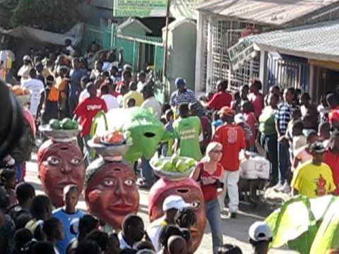 Jacmel Carnival Ti Machann 2011