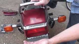 Brake Light Replacement with LED on Honda Motorcycle