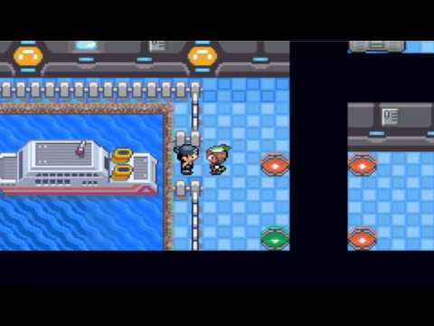 Pokemon Flora Sky Walkthrough Part 24 - Dark Cave. HM08. & Submarine