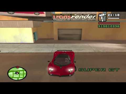 Gta San Andreas Superman Mod Cars Car Mods Gta San Andreas