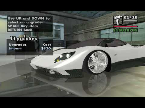 GTA San Andreas Car Mods [HD]