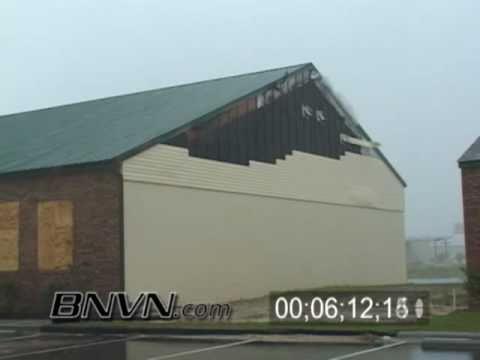 7/10/2005 Hurricane Dennis Video - Part 11, Hurricane Eye Wall, Navarre, Florida