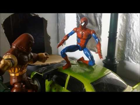 Spider-Man & Hulk Vs. Juggernaut Stop Motion