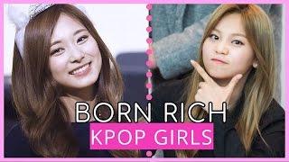 8 KPop GIRLS Born In RICH FAMILIES