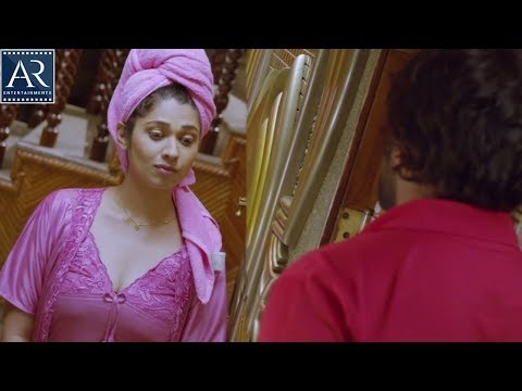 Lover Boy Clever Ammai Movie Scenes | Pizza Delivery Boy with House Owner | AR Entertainments thumbnail