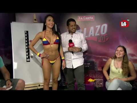 Culaso de modelo colombiana thumbnail