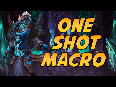 Frost Mage One Shot Macro Patch 5.2 World of Warcraft by Cartoonz
