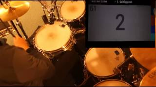 R&B Funk Soul Drum track, Drums only, Drum Groove with 110bpm