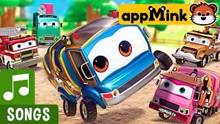 #appMink Baby Truck Nursery Rhymes ( Baby Shark Parody )
