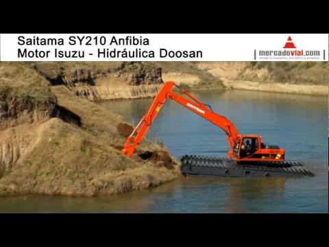 Venta Excavadoras Anfibias en Argentina