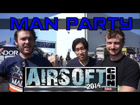 Airsoft Con 2014 Evike - MAN Party