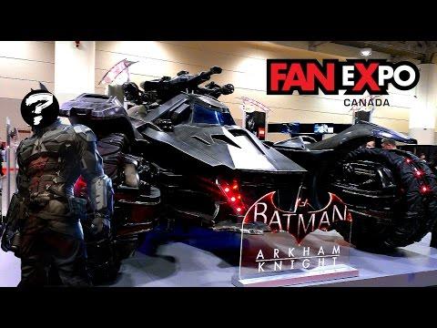 Fan Expo Canada 2014: ARKHAM KNIGHTS IDENTITY REVEALED? REAL LIFE BATMOBILE & MORE!