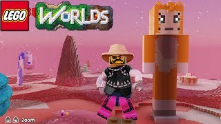 Lego Worlds - Building Stampy Cat [23]
