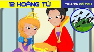 12 Hoàng Tử      Chuyen Co Tich   Truyện Cổ Tích Việt Nam