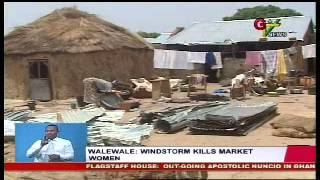 Windstorm Kills Market Women