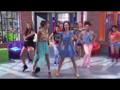Violetta 2 - Video Musical Vilu,Fran y Cami cantan