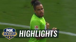 Daniel Didavi scores in 100th Bundesliga game | 2016-17 Bundesliga Highlights