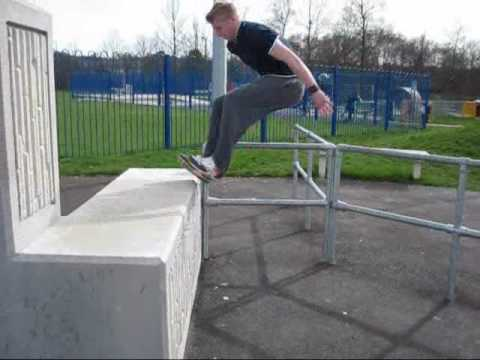 Crawley Parkour - Part 4 - Pure Parkour