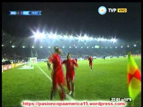 Peru 3 Bolivia 1 (Relato Leo Gentili)  Copa America 2015 Los goles