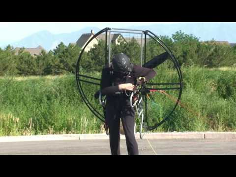 World's Easiest Powered Paragliding / Paramotor / Paraglider/ Paramotoring Equipment!! Flat Top!!!