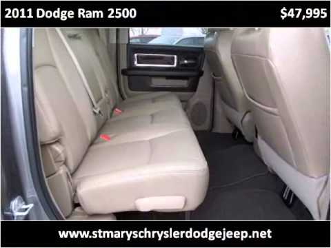 2011 Dodge Ram 2500 Used Cars Saint Marys OH