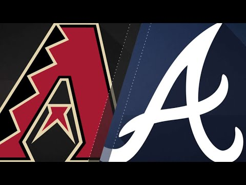 71518: Braves score 4 in the 3rd to defeat D-backs