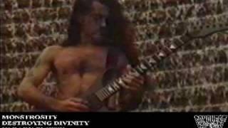 Watch Monstrosity Destroying Divinity video