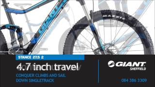 Giant Stance 27.5 2 2015 Finance Option Giant Sheffield
