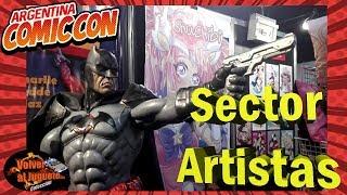 Argentina Comic Con 2018, Sector Artistas