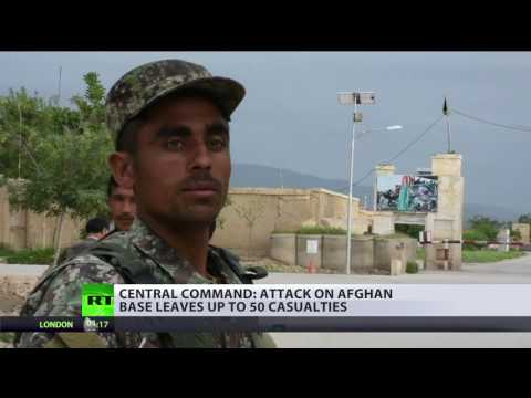 More than 50 feared dead after attack on Afghan base in Taliban  – US central command